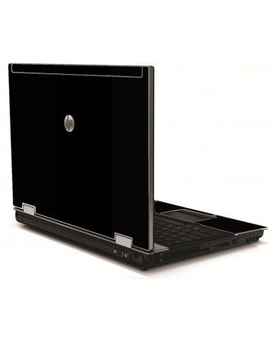 Black HP 8540W Laptop Skin