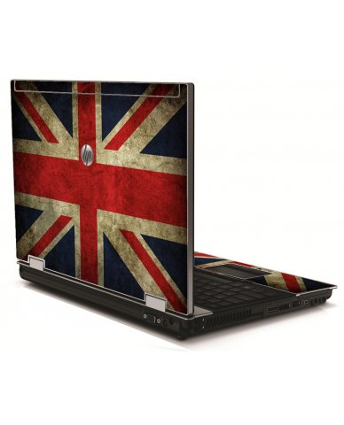 British Flag HP 8540W Laptop Skin