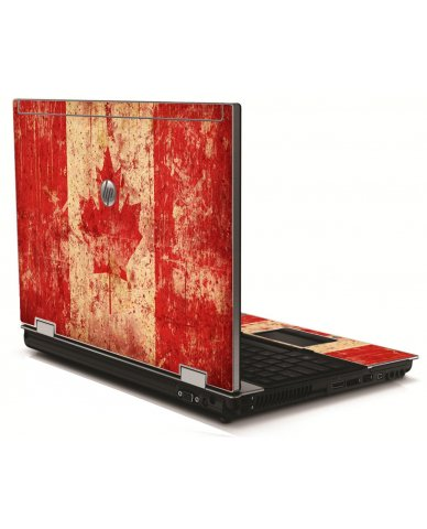 Canada Flag HP 8540W Laptop Skin