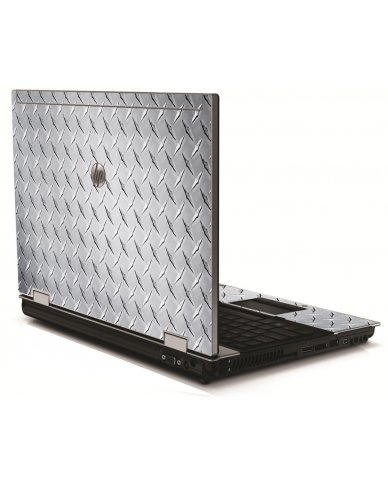 Diamond Plate HP 8540W Laptop Skin