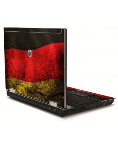German Flag HP 8540W Laptop Skin