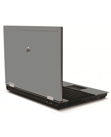 Grey/Silver HP 8540W Laptop Skin