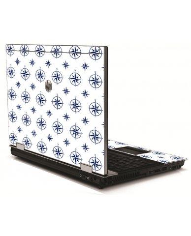 Nautical HP 8540W Laptop Skin