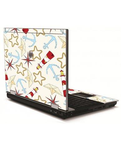 Nautical Lighthouse HP 8540W Laptop Skin