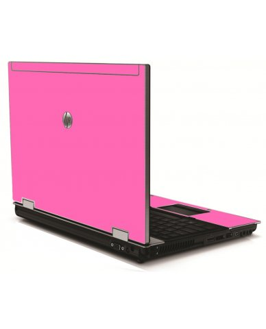 Pink HP 8540W Laptop Skin