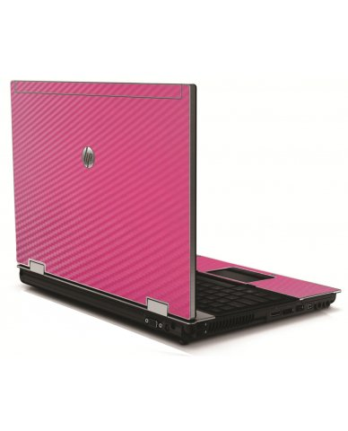 Pink Carbon Fiber HP 8540W Laptop Skin