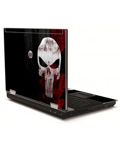 Punisher Skull HP 8540W Laptop Skin