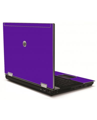 Purple HP 8540W Laptop Skin