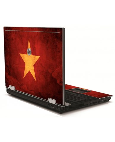 Vietnam Flag HP 8540W Laptop Skin
