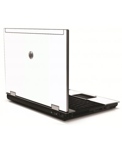 White HP 8540W Laptop Skin