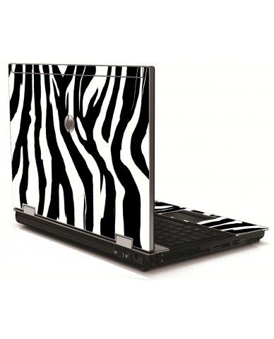 Zebra HP 8540W Laptop Skin