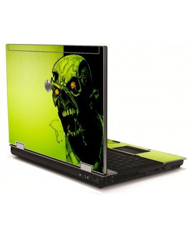 Zombie Face HP 8540W Laptop Skin