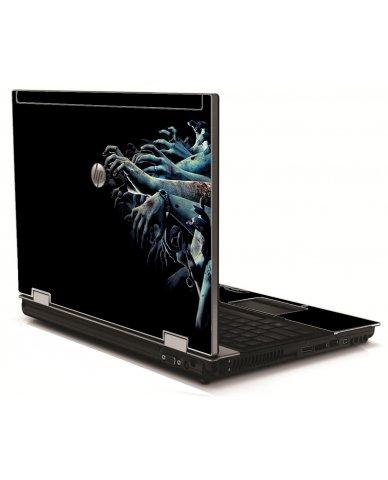 Zombie Hands HP 8540W Laptop Skin