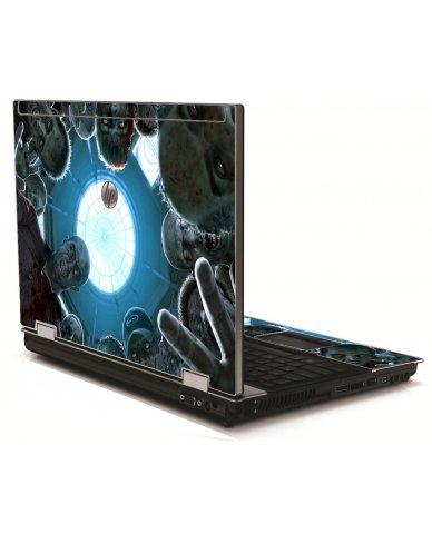 Zombie Horde HP 8540W Laptop Skin