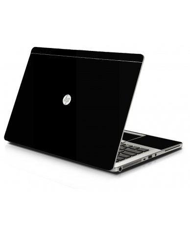 Black HP 9470M Laptop Skin