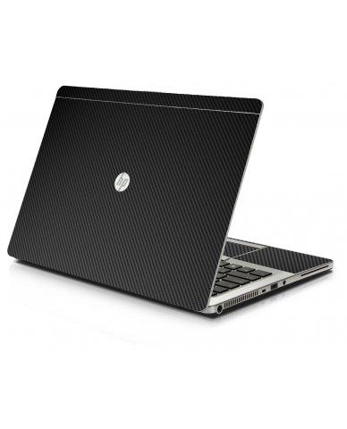 Black Carbon Fiber HP 9470M Laptop Skin