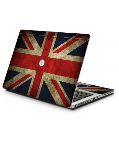 British Flag HP 9470M Laptop Skin