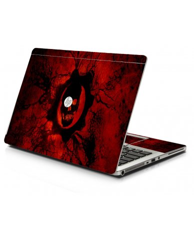 Dark Skull HP 9470M Laptop Skin