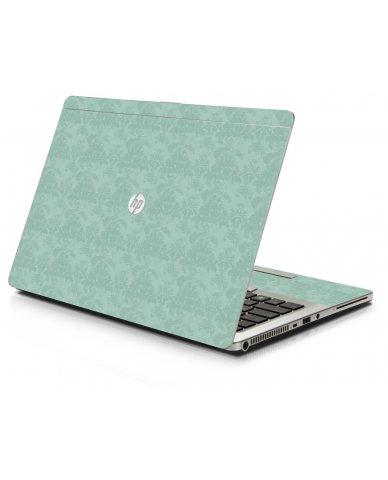 Dreamy Damask HP 9470M Laptop Skin