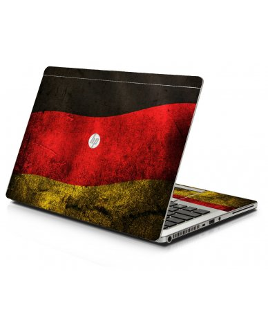 German Flag HP 9470M Laptop Skin