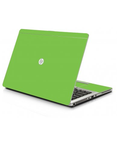 Green HP 9470M Laptop Skin