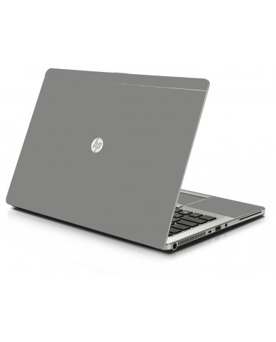 Grey/Silver HP 9470M Laptop Skin