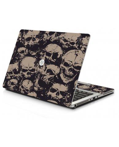 Grunge Skulls HP 9470M Laptop Skin