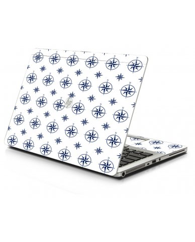 Nautical HP 9470M Laptop Skin