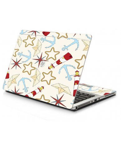 Nautical Lighthouse HP 9470M Laptop Skin
