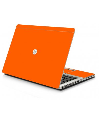 Orange HP 9470M Laptop Skin
