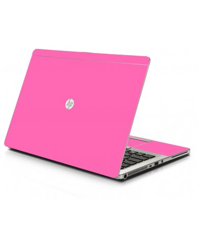 Pink HP 9470M Laptop Skin