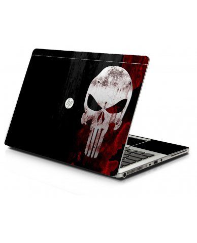 Punisher Skull HP 9470M Laptop Skin