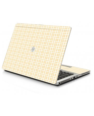 Warm Plaid HP 9470M Laptop Skin