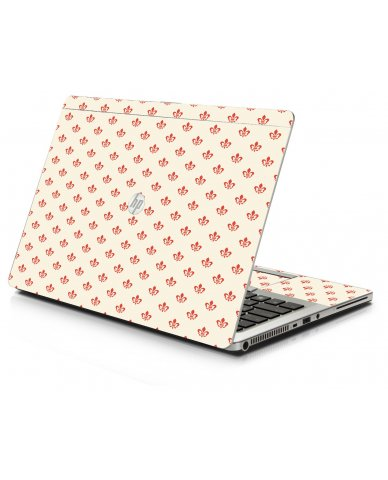 White And Pink Versailles HP 9470M Laptop Skin