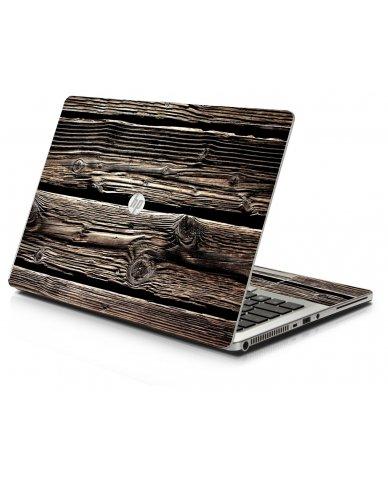 Wood HP 9470M Laptop Skin