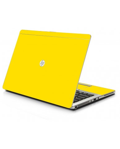 Yellow HP 9470M Laptop Skin