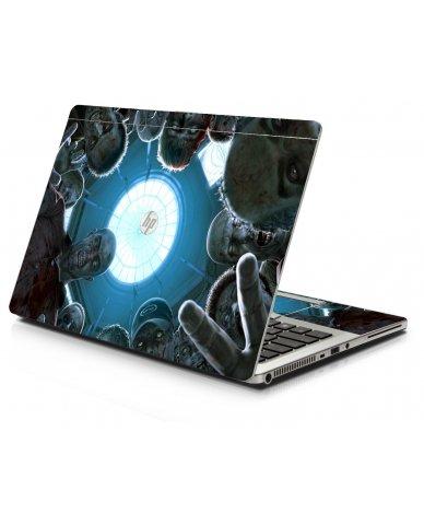 Zombie Horde HP 9470M Laptop Skin