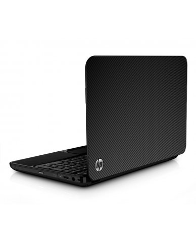 Black Carbon Fiber HPG6 Laptop Skin
