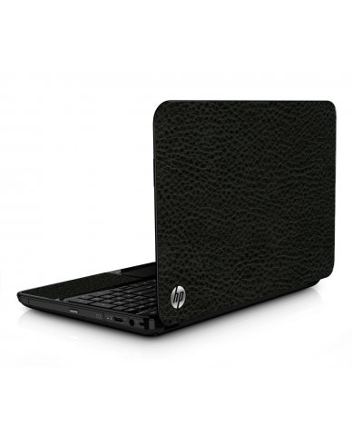 Brown Leather HPG6 Laptop Skin