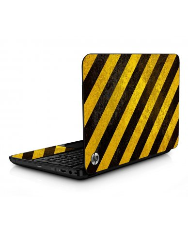 Caution Stripes HPG6 Laptop Skin