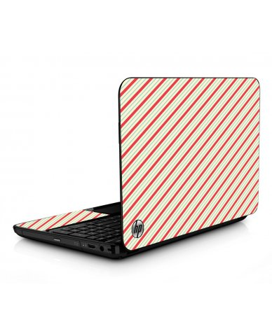 Circus Stripes HPG6 Laptop Skin