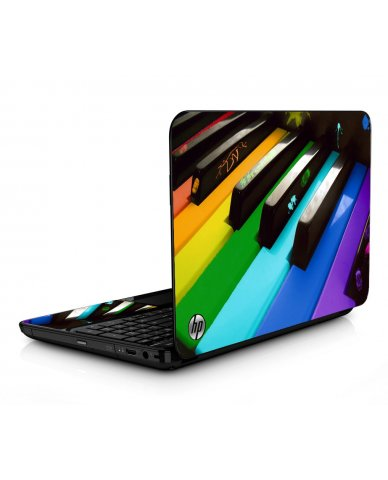 Colorful Piano HPG6 Laptop Skin