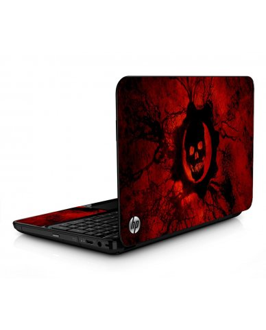 Dark Skull HPG6 Laptop Skin