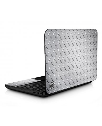 Diamond Plate HPG6 Laptop Skin