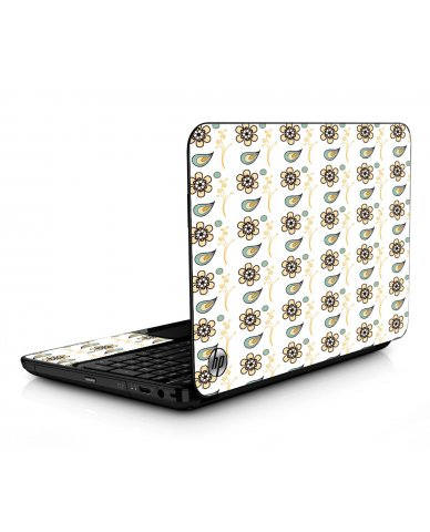 Fun Floral HPG6 Laptop Skin