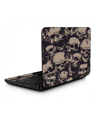 Grunge Skulls HPG6 Laptop Skin