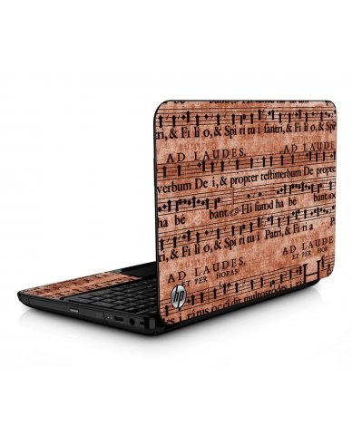 Latin Sheet Music HPG6 Laptop Skin