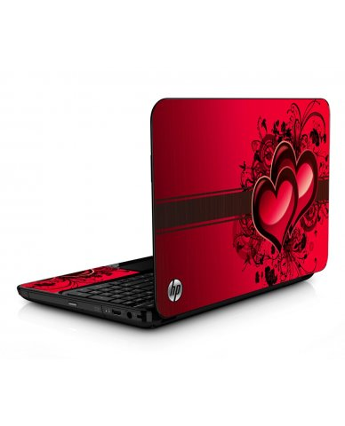 Love Heart HPG6 Laptop Skin