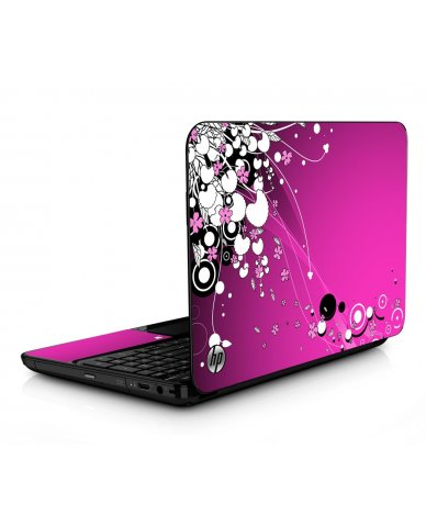 Pink Flowers HPG6 Laptop Skin