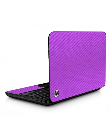 Purple Carbon Fiber HPG6 Laptop Skin